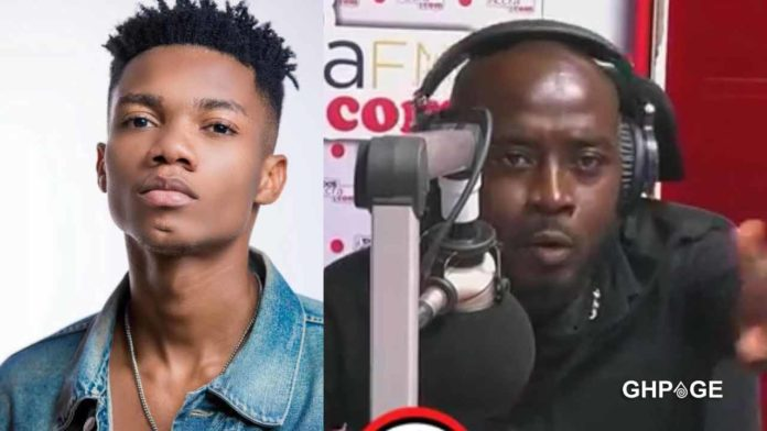 Kidi drops the first reaction after Accra FM presenter sacked him from a live interview