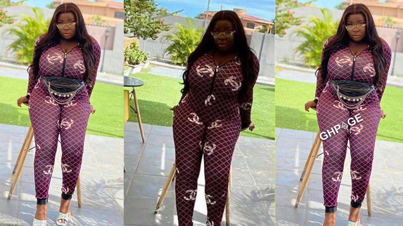 Maame Serwaa shuts down the internet with 3 stunning photos