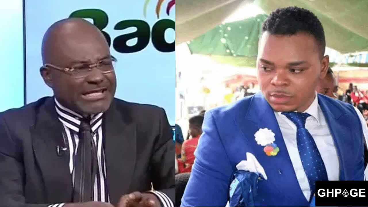 Ken Agyapong hates Obinim because Osofo Kyiri Abosom wants to chose him as Vice President -Jnr Pastor