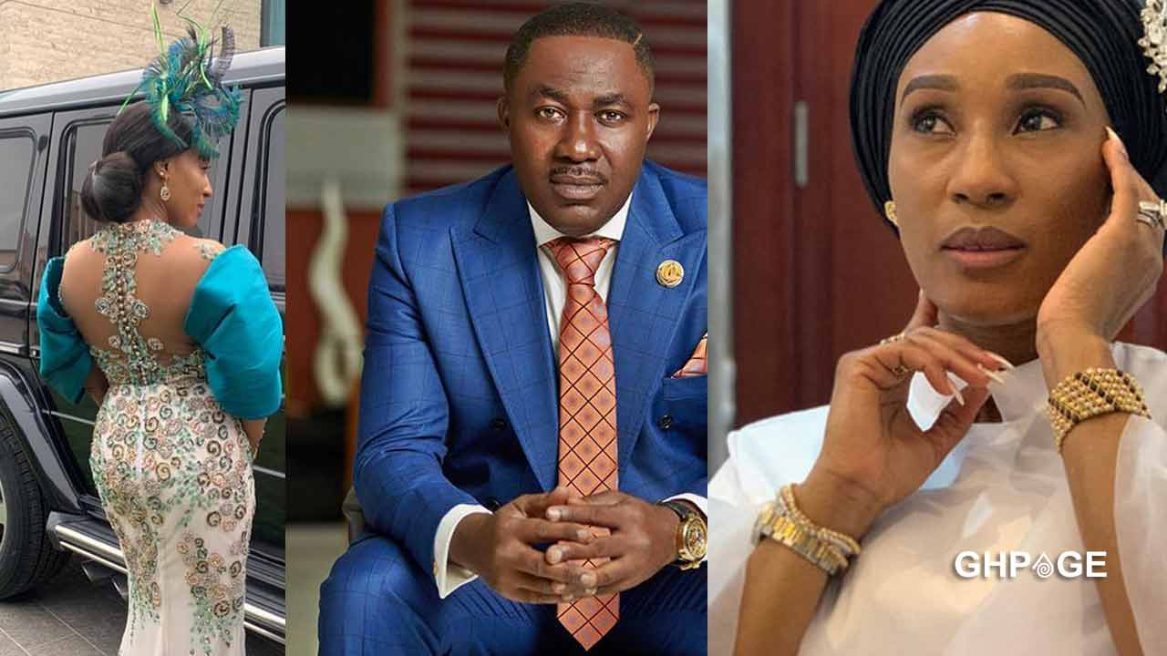 Rare photos and video of Dr Osei Kwame Despite's beautiful wife pops up online