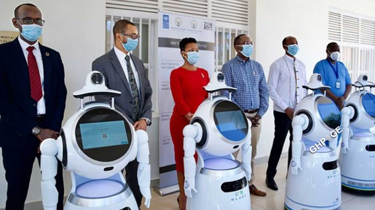 Rwanda deploys high tech robots to fight COVID-19