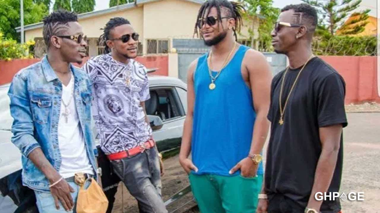 Shatta Wale allegedly sacks all his militants