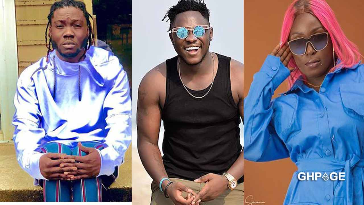 Showboy clashes with Eno Barony on twitter over her diss song to Medikal