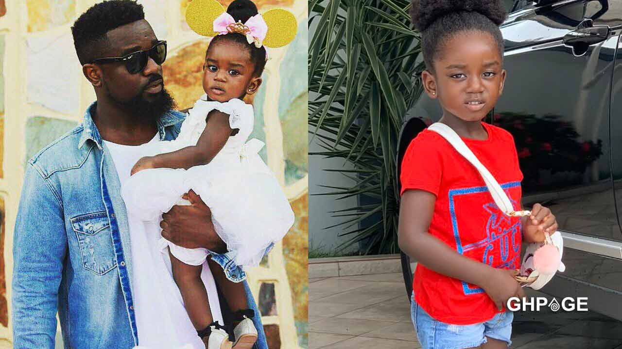 Video of the heartwarming moment Sarkodie's daughter, Titi showed off her rap skills