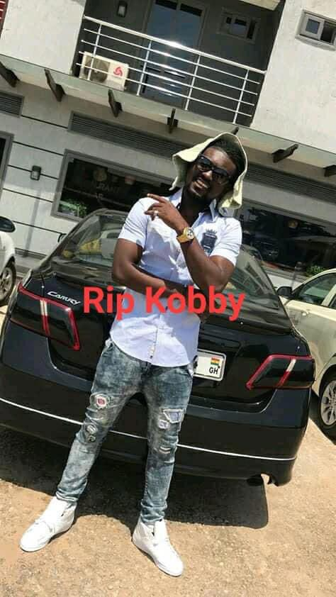 Kobby, the rising musician who has been killed by his landlord