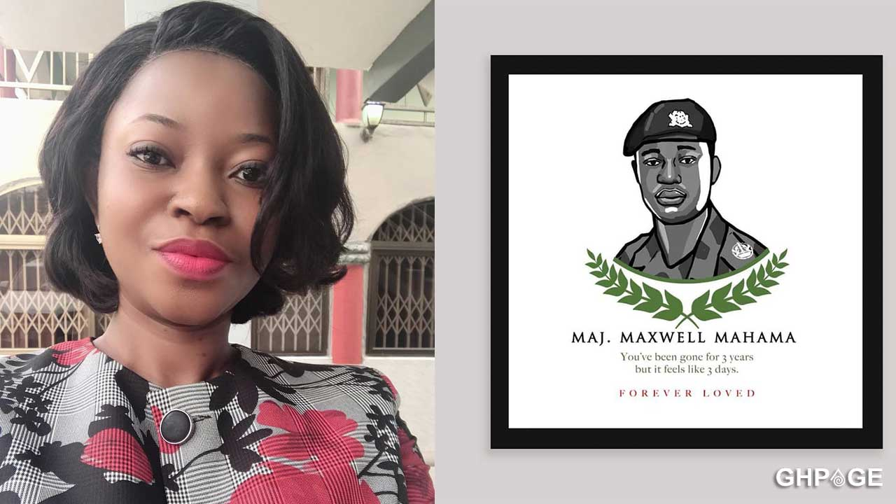 Our son awaits your return- Major Mahama's wife mourns him