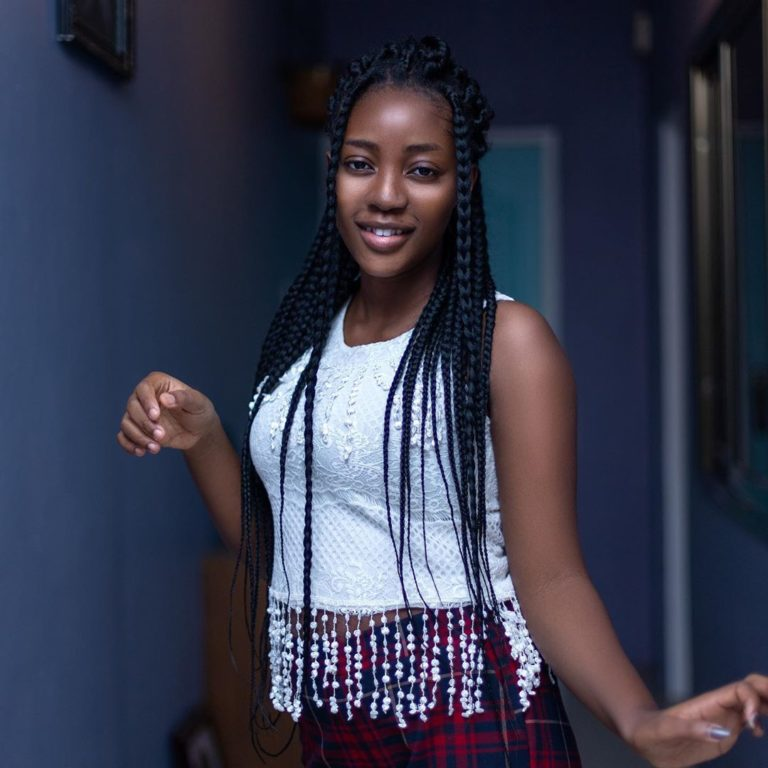 Bridget Agyeman Boateng 3 - Unseen photos of Fameye's beautiful baby Mama surfaces online after giving birth