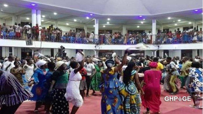 Church-dancing