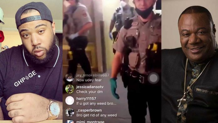 =Daniel Williams, son of Duncan Williams arrested after his videos wet viral
