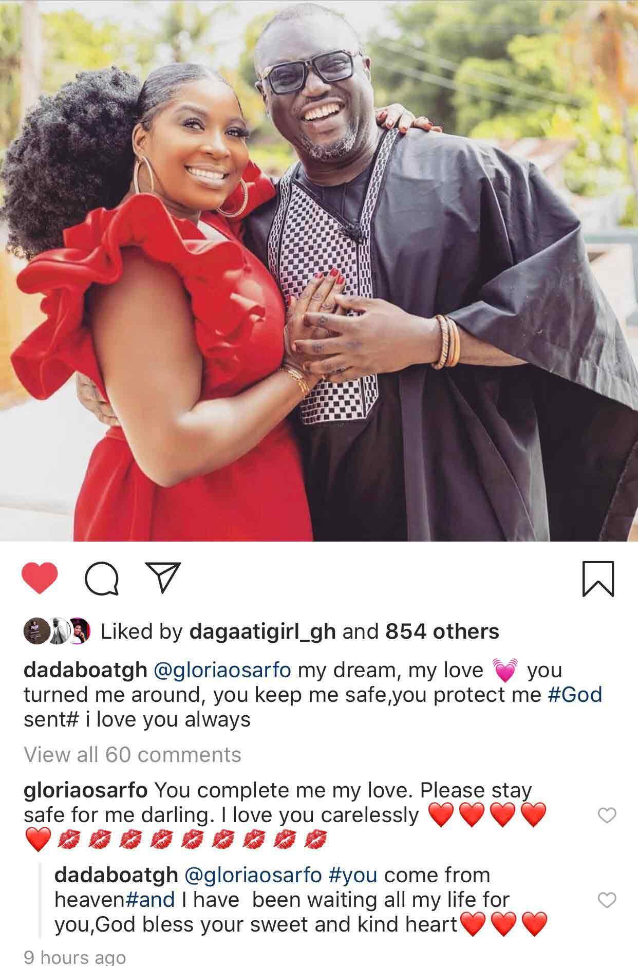 Gloria Sarfo set to marry Dada Boat