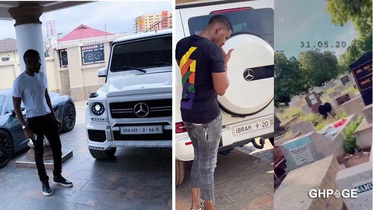 Ibrah storms cemetery to warn Ghanaians insulting him