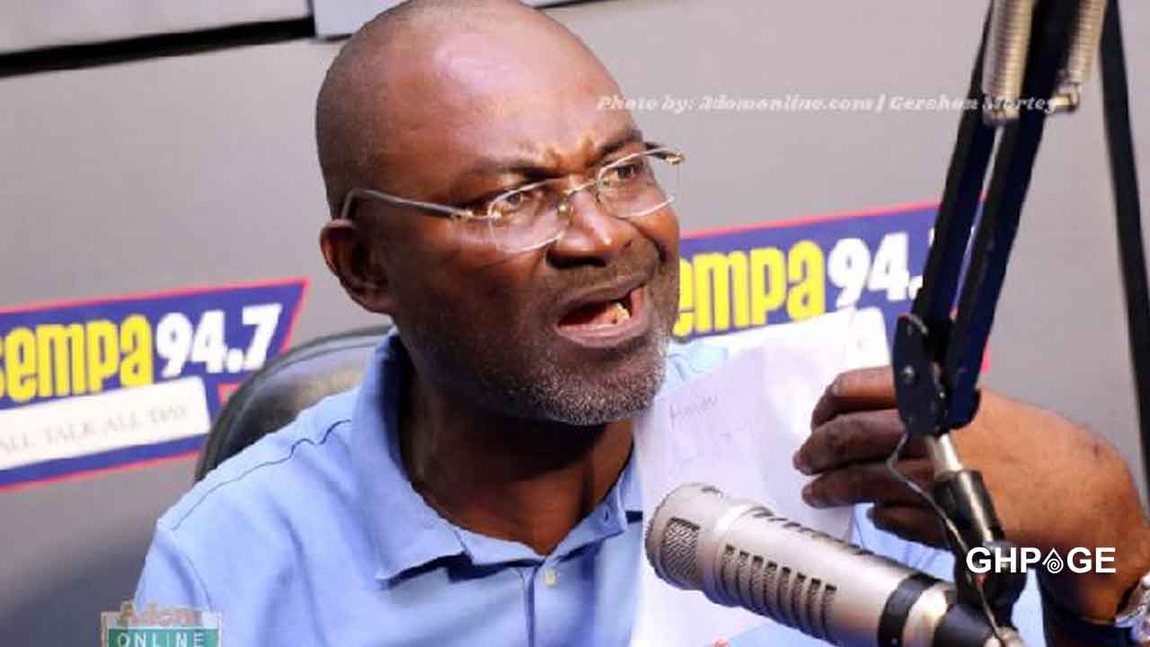 Kennedy Agyapong drops a full list of pastors who begged him not to expose them