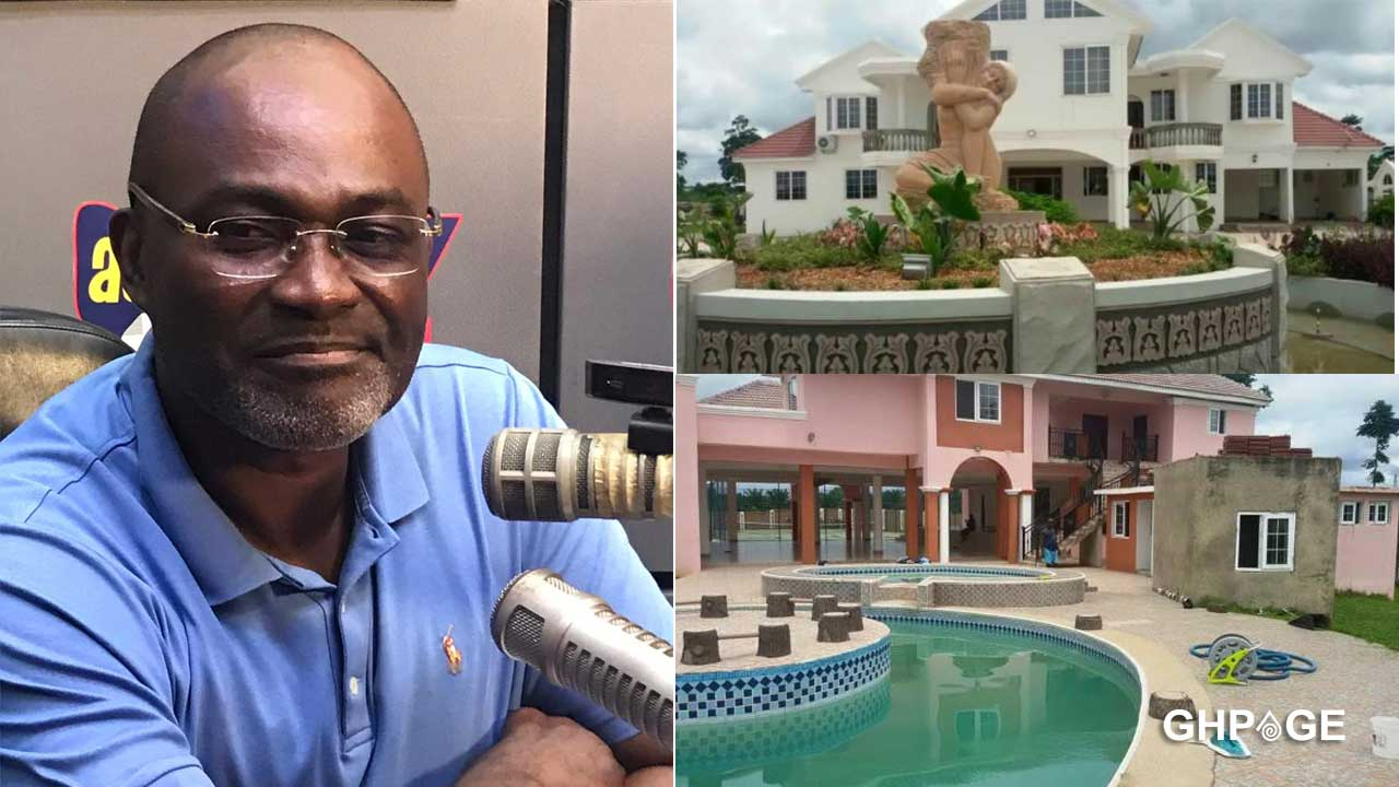 Kennedy Agyapong's abandoned mansion in his village surfaces on social media (VIDEO)
