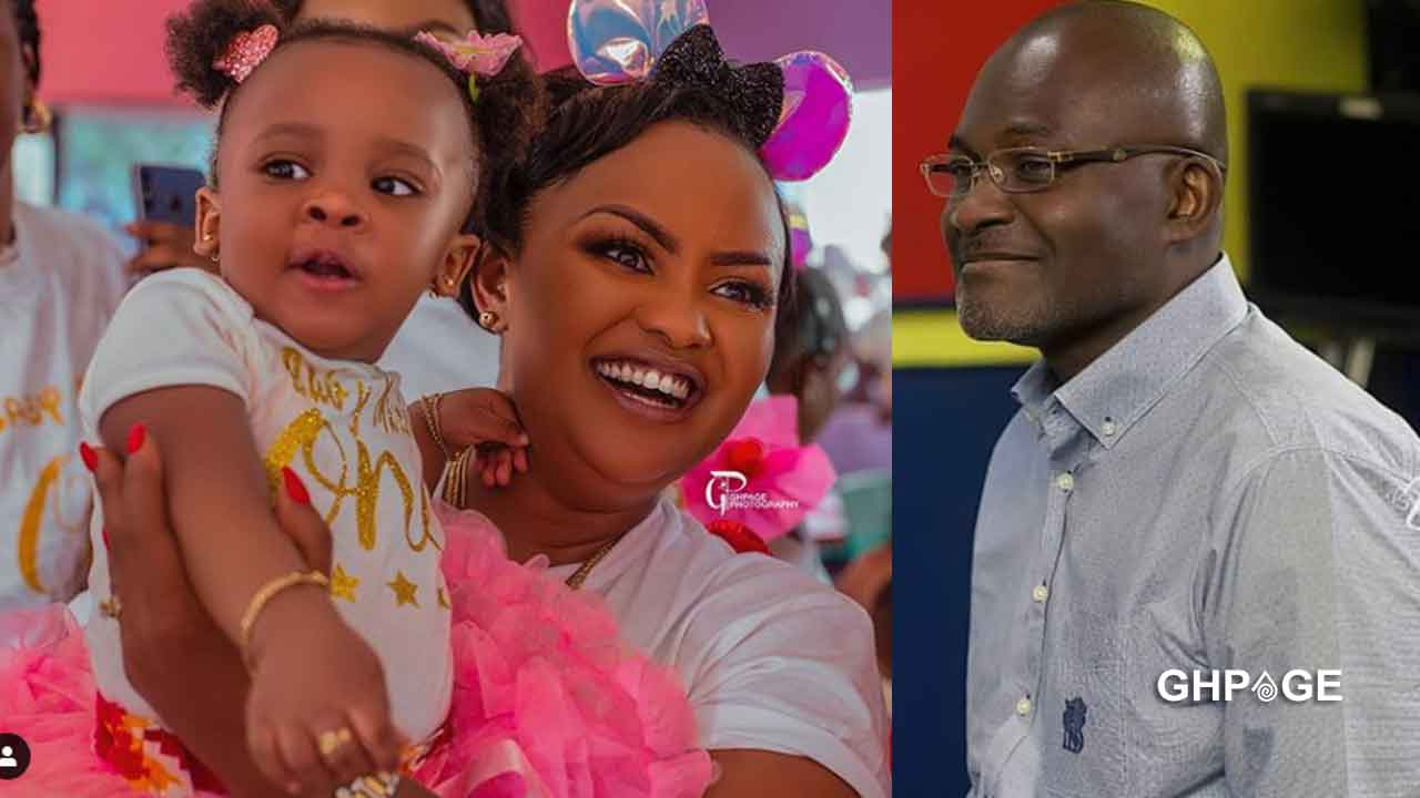 Mcbrown shares beautiful photo of Kennedy Agyapong and daughter on his 60th B-day