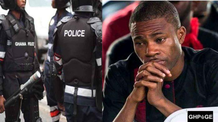 Kofi Adomah Nwanwani & Police