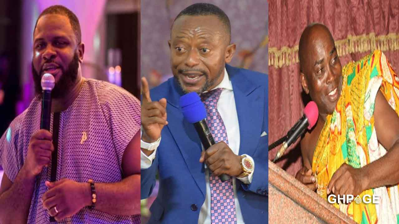 Video of the moment Rev Owusu Bempah prophesied about the recent deaths at Despite Media surfaces