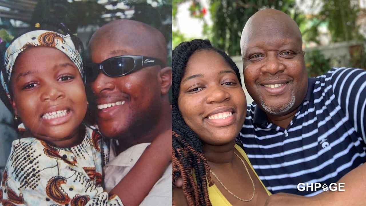 Kwame Sefa Kayi first daughter celebrates dad on 50th birthday