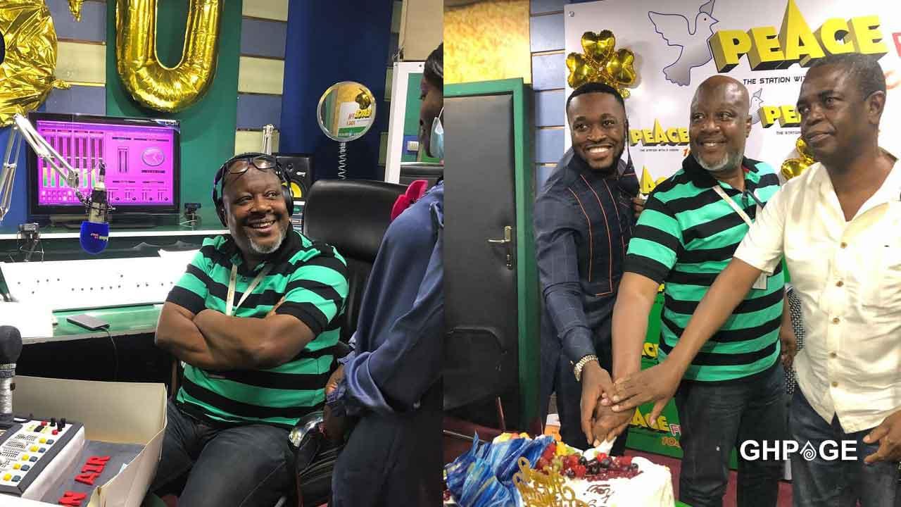 Despite son throws a lavish birthday party for Kwame Sefa Kayi
