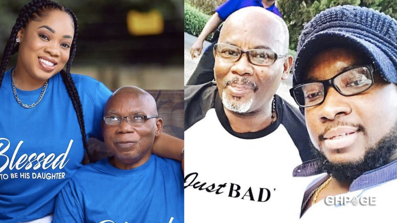 Sonnie Badu, Moesha Boduong and others share photos of their fathers to celebrate them