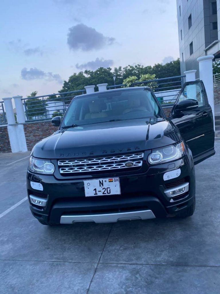 Nana Aba Anamoah's Range Rover