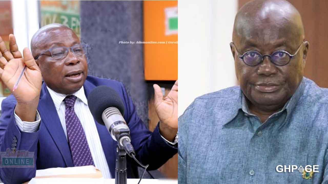 COVID-19: Nana Akuffo Addo exposes the Health Minister