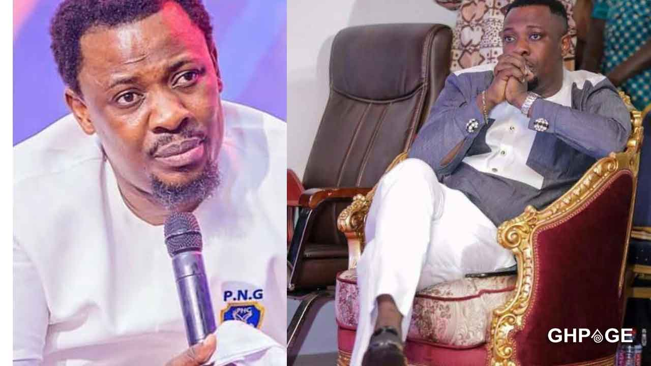 Video of the embarrassing moment Nigel Gaisie gave a fake prophecy to a church member goes viral
