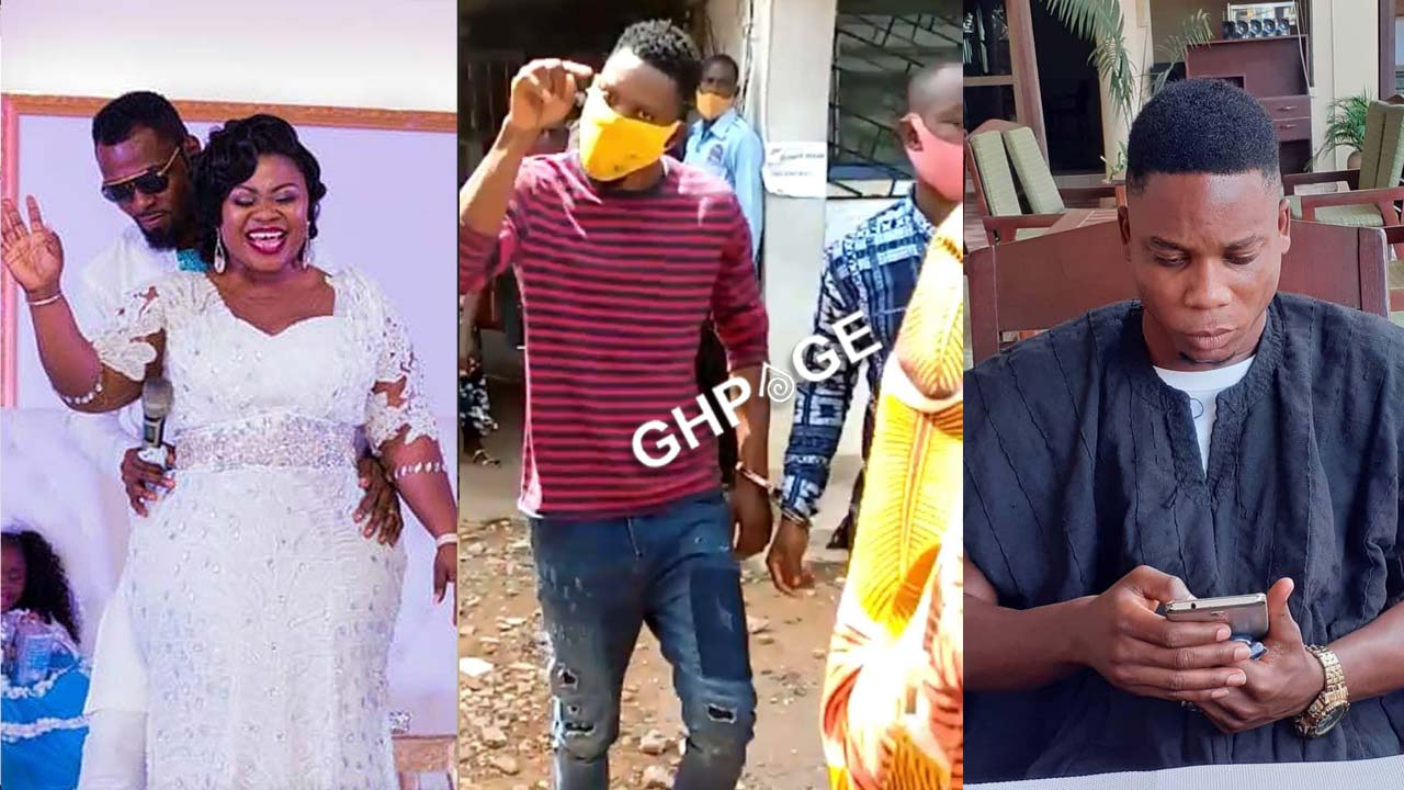 Obofour and his wife jubilate after Nana Hoahi was remanded for 2 weeks