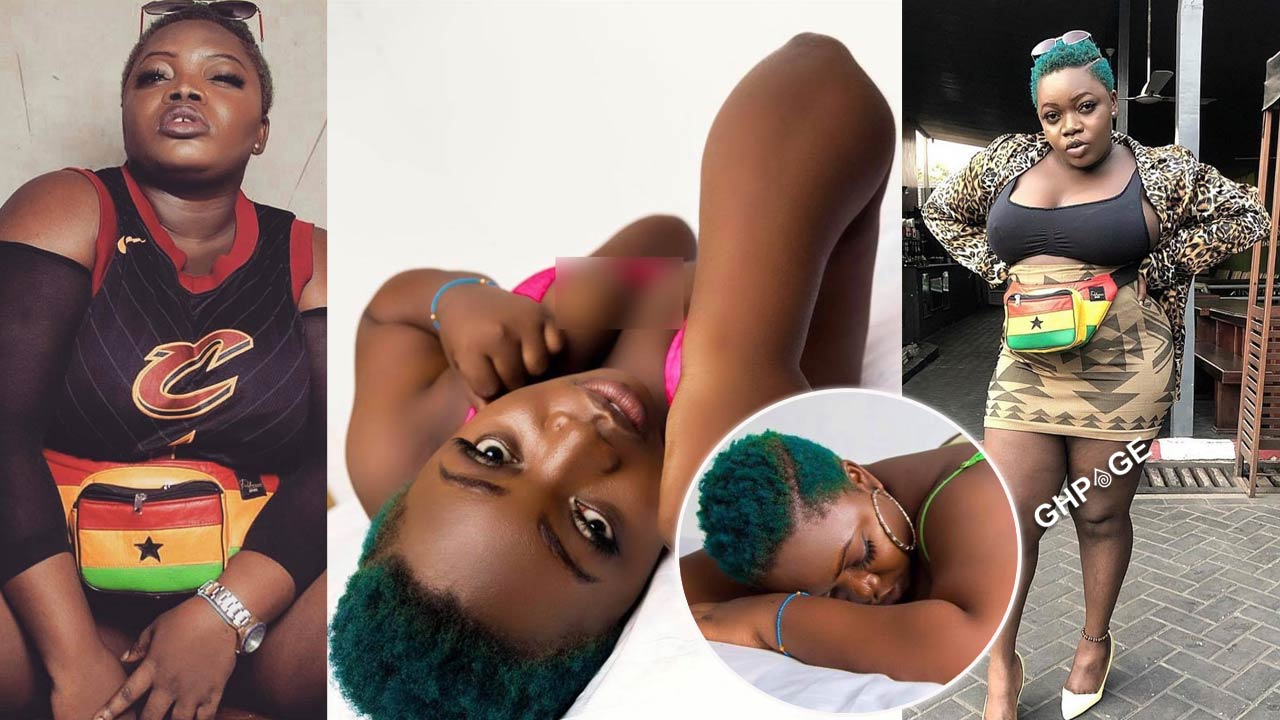 10 Bad girl photos of Queen Haizel, the Ghanaian songstress who has died