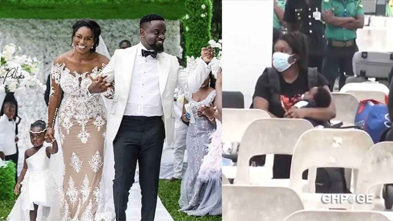 First video of Sarkodie's newborn son surfaces on social media