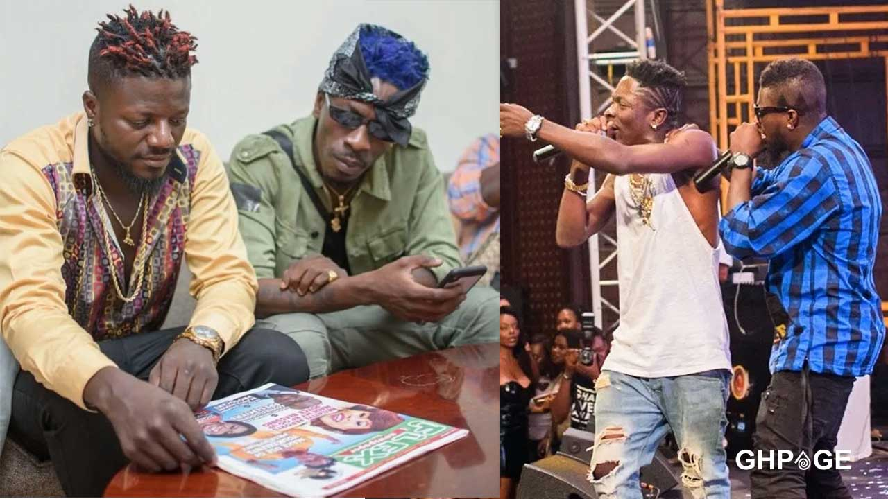 Pope Skinny throws shots at Shatta Wale in new diss song