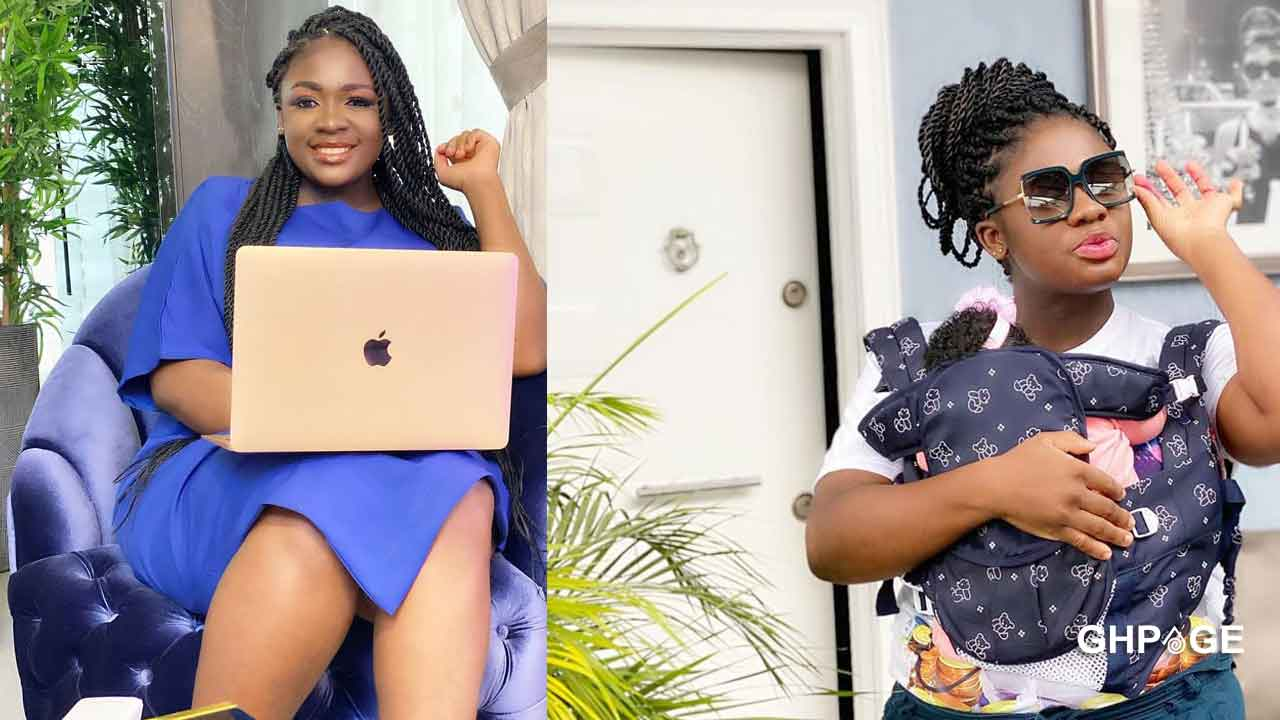 Tracey Boakye finally shows the beautiful face of her daughter on social media