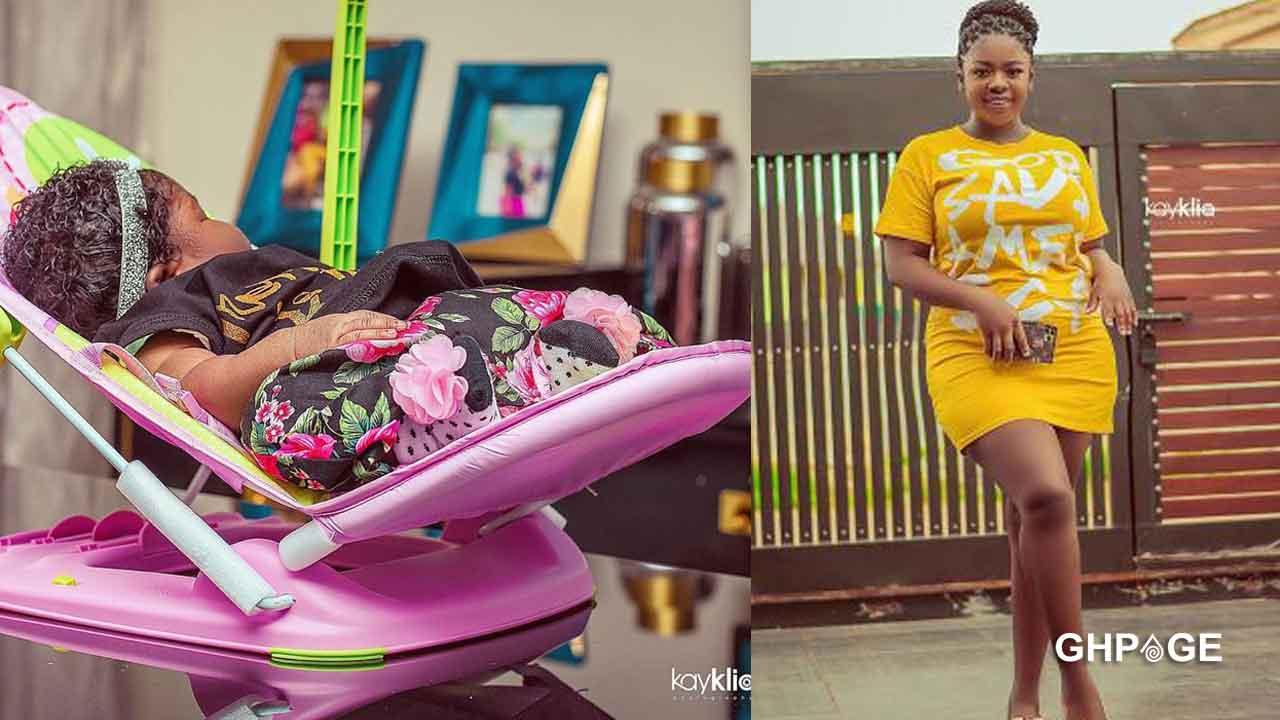 Tracey Boakye's newborn baby lands an ambassadorial deal?