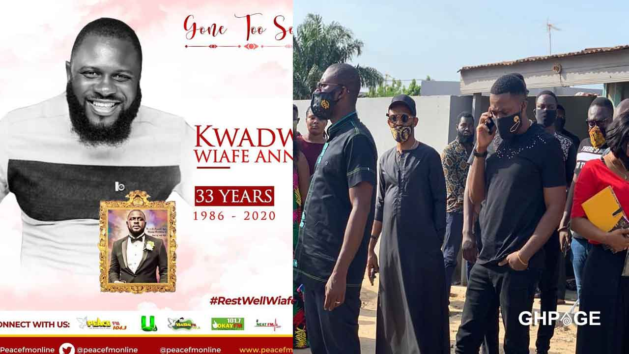Video of the sad moment the Staff Of Despite Media visited the family of Late Kwadwo Wiafe