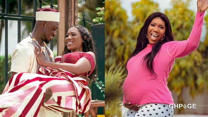Victoria-Lebene-welcomes-beautiful-baby-girl-with-Eugene-Osafo-Nkansah