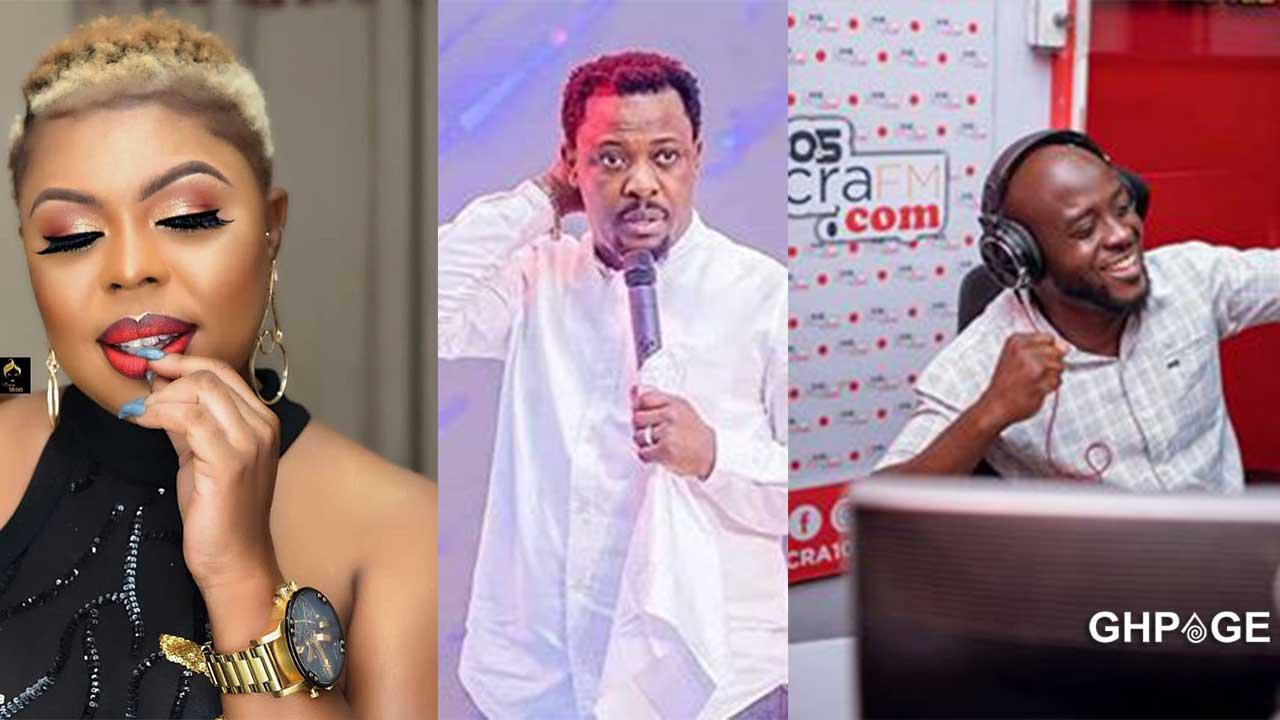 Afia Schwar alleges Nigel Gaisie slept with Nana Romeo's wife