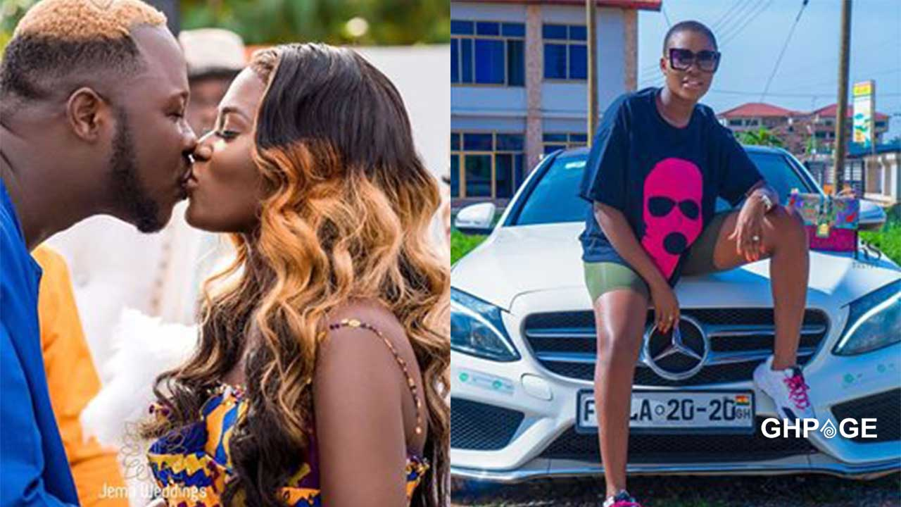 Fella Makafui goes hard on fan who calls her a gold digger