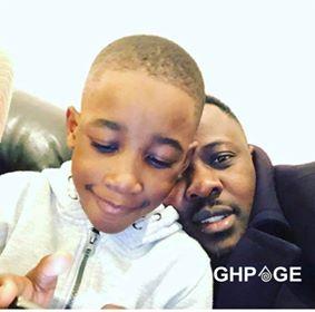 Nigel Gaisie and son Nyameyekese