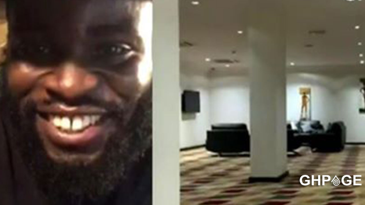 Sarkodie still living 'large' in quarantine, releases video to prove