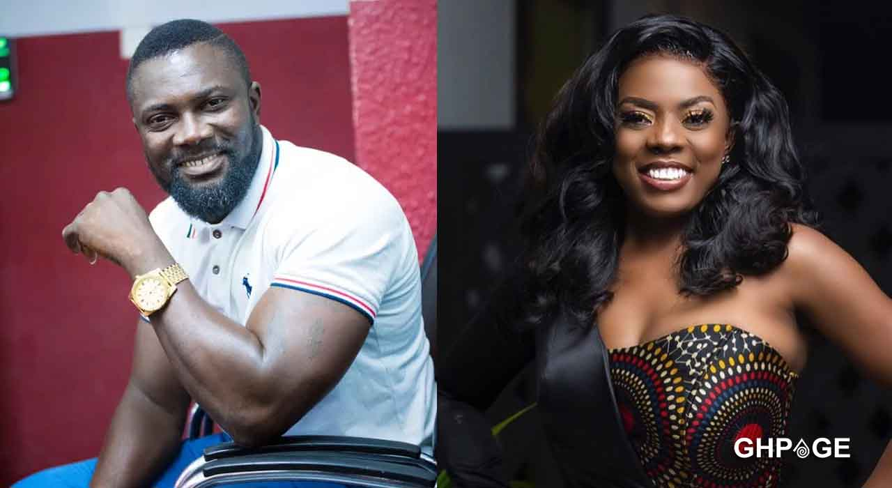 Adom Tv host attacks & mocks Nana Aba after she banned Lutterodt and asked others to do same