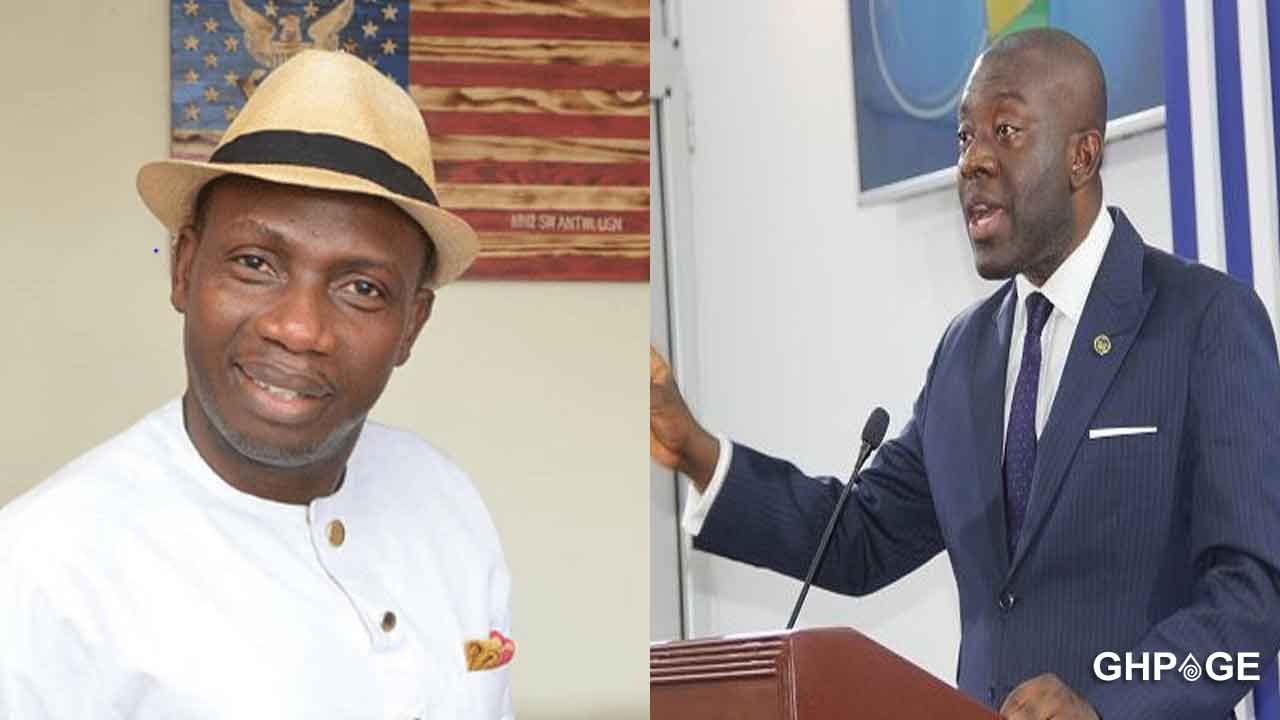 Kojo Oppong Nkrumah takes a swipe at Counsellor Lutterodt