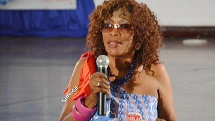 Afia Ansaa Ampene, the host of Mmaa Nkomo