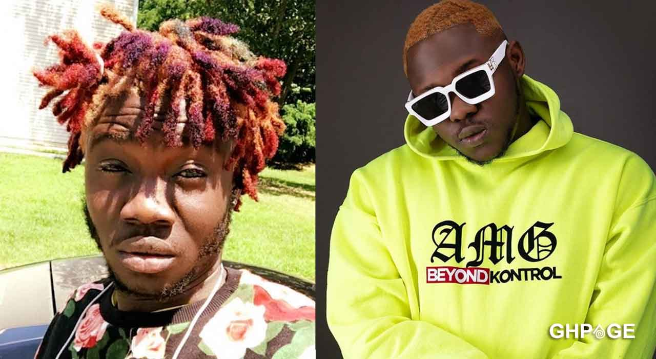 Medikal forged AMG Beyond Control from AMG Record Label and is selling out low-key-Showboy