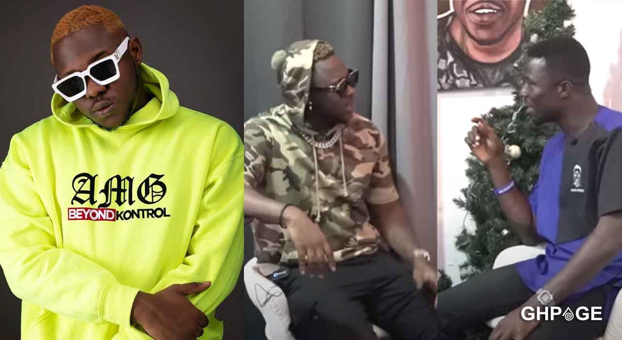Medikal rebukes Kwaku Manu for cheating on his wife