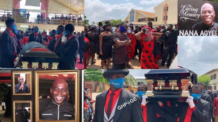 Funeral Service of Nana Agyei Sikapa
