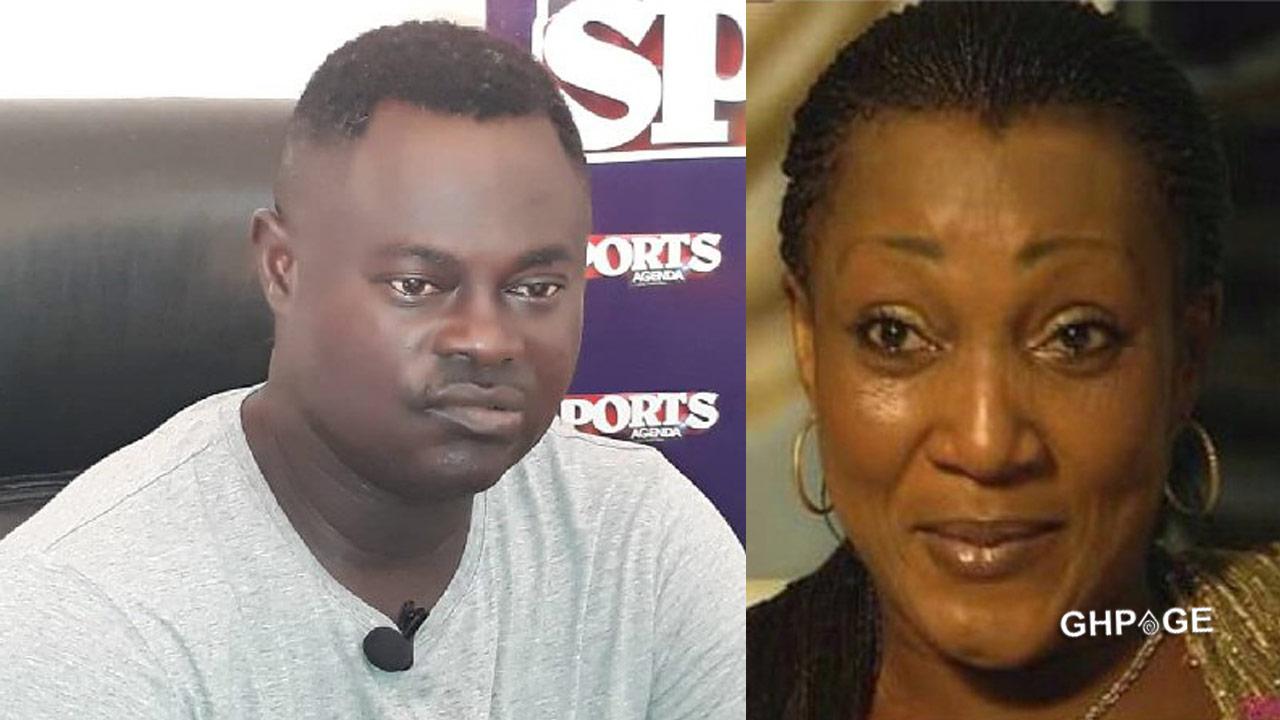 Odartey Lamptey and ex-wife, Gloria Appiah