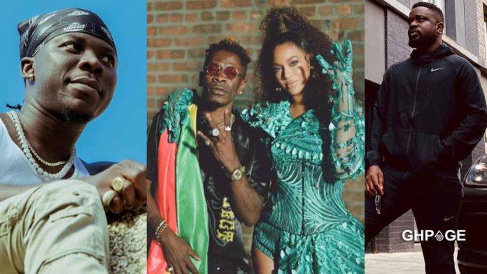 Shatta-Wale-Beyonce-Stonebwoy-and-Sarkodie