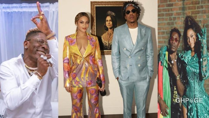 Shatta Wale, Beyonce and Jay Z