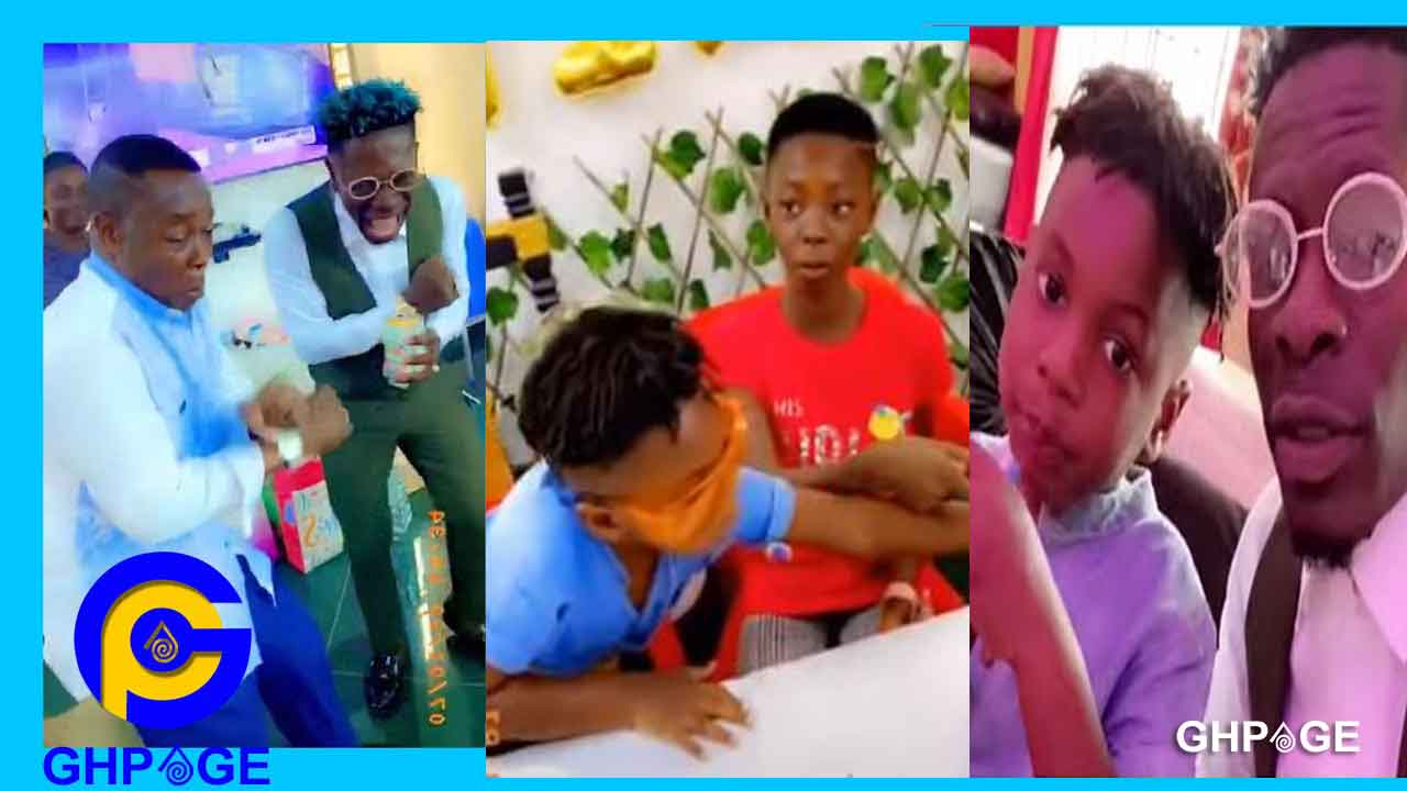 Shatta Wale spends quality time with Majesty, spoils daughter Cherissa on b-day