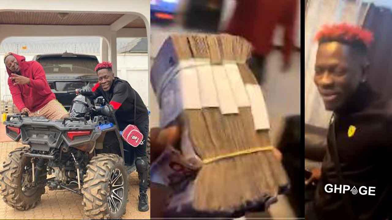 Shatta Wale dashes Medikal bundles of money for free