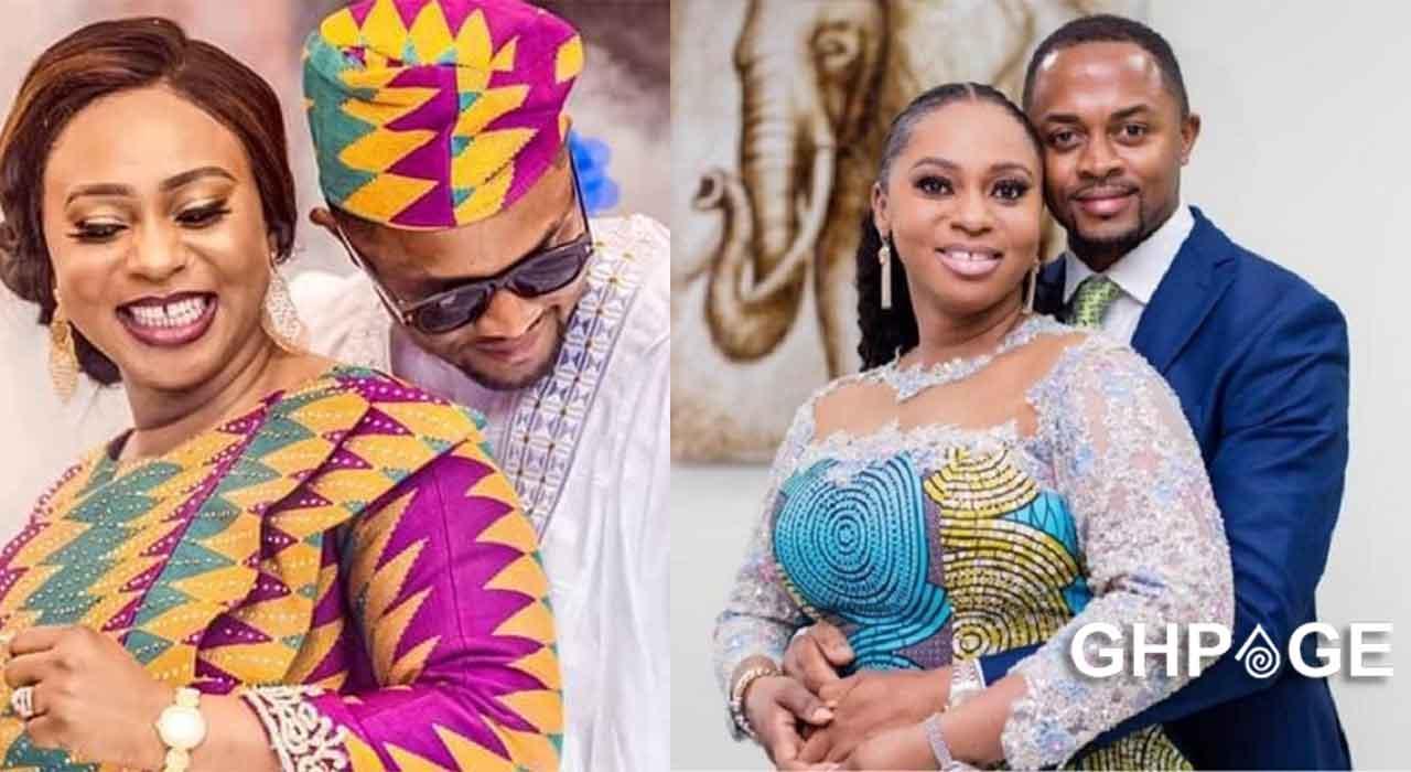Adwoa Safo celebrates husband on their marriage anniversary